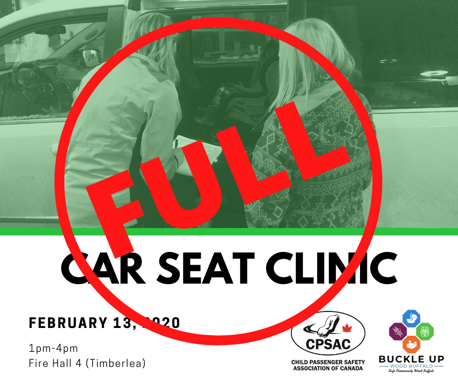 Car Seat Clinic February 13th 1