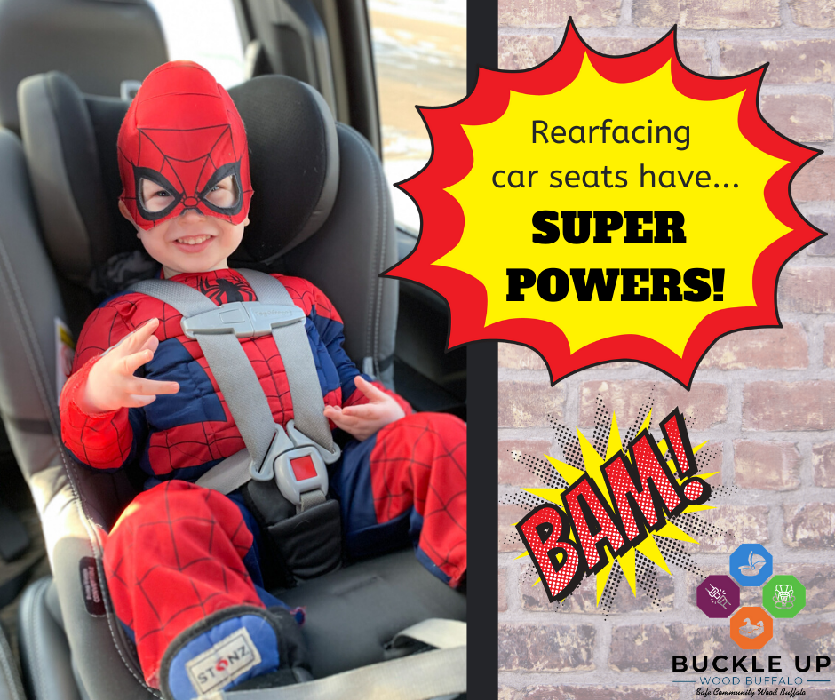 Rearfacing Car Seats Have SUPERPOWERS 1